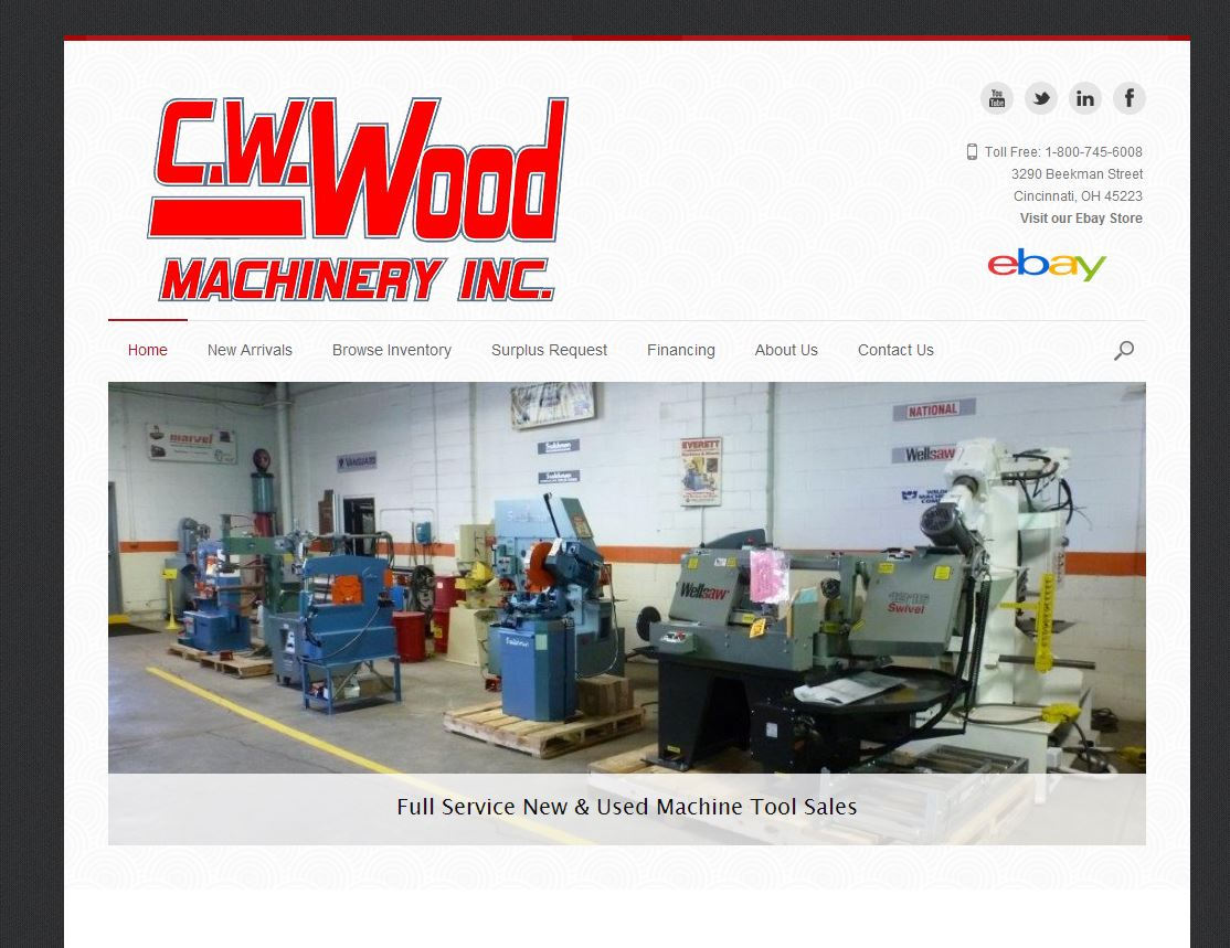 C.W.Wood Machinery, Inc.